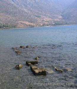 Αρχαία Κίρρα, Ιτέα, Δελφοί