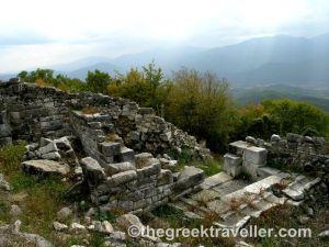Ροδόπη, Νέστος, Θράκη, Κάστρο Καλύβας