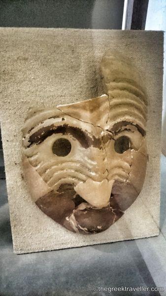 «Σπάρτη, Λακωνία, Αρχαιολογικό Μουσείο, Ιερό Αρτέμιδος Ορθίας, Πελοπόννησος, μάσκες»