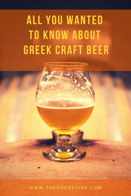 All You Wanted to Know About Greek Beers
