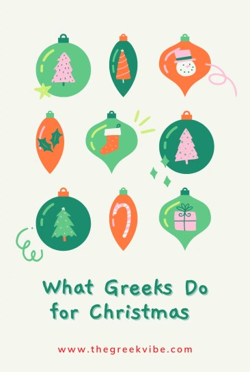 What Greeks Do for Christmas