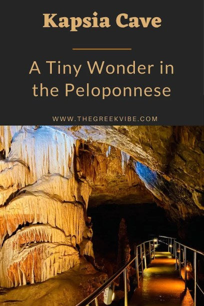 Kapsia Cave: A Tiny Greek Wonder in the Peloponnese