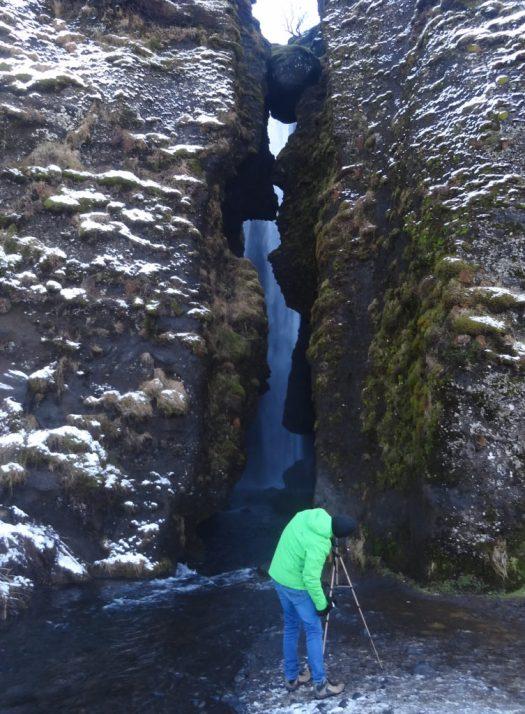 Glijufrabui waterfall