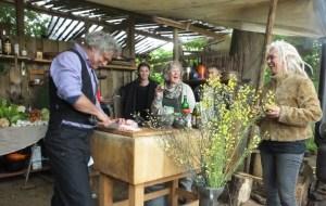 The Green Circle - Workshops in de Natuur - bedrijfs- groeps of familie uitje - workshop oerkoken