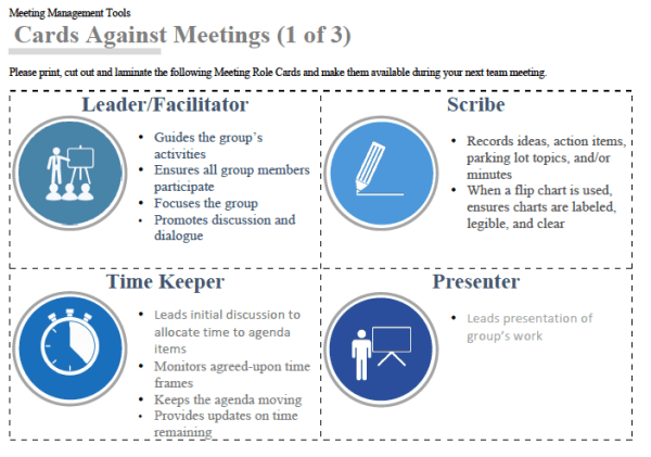 Meeting Roles