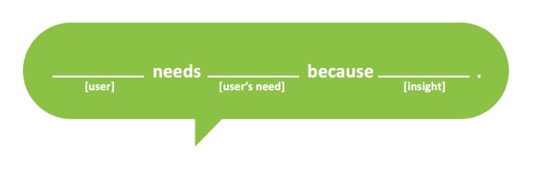 User Needs Statement