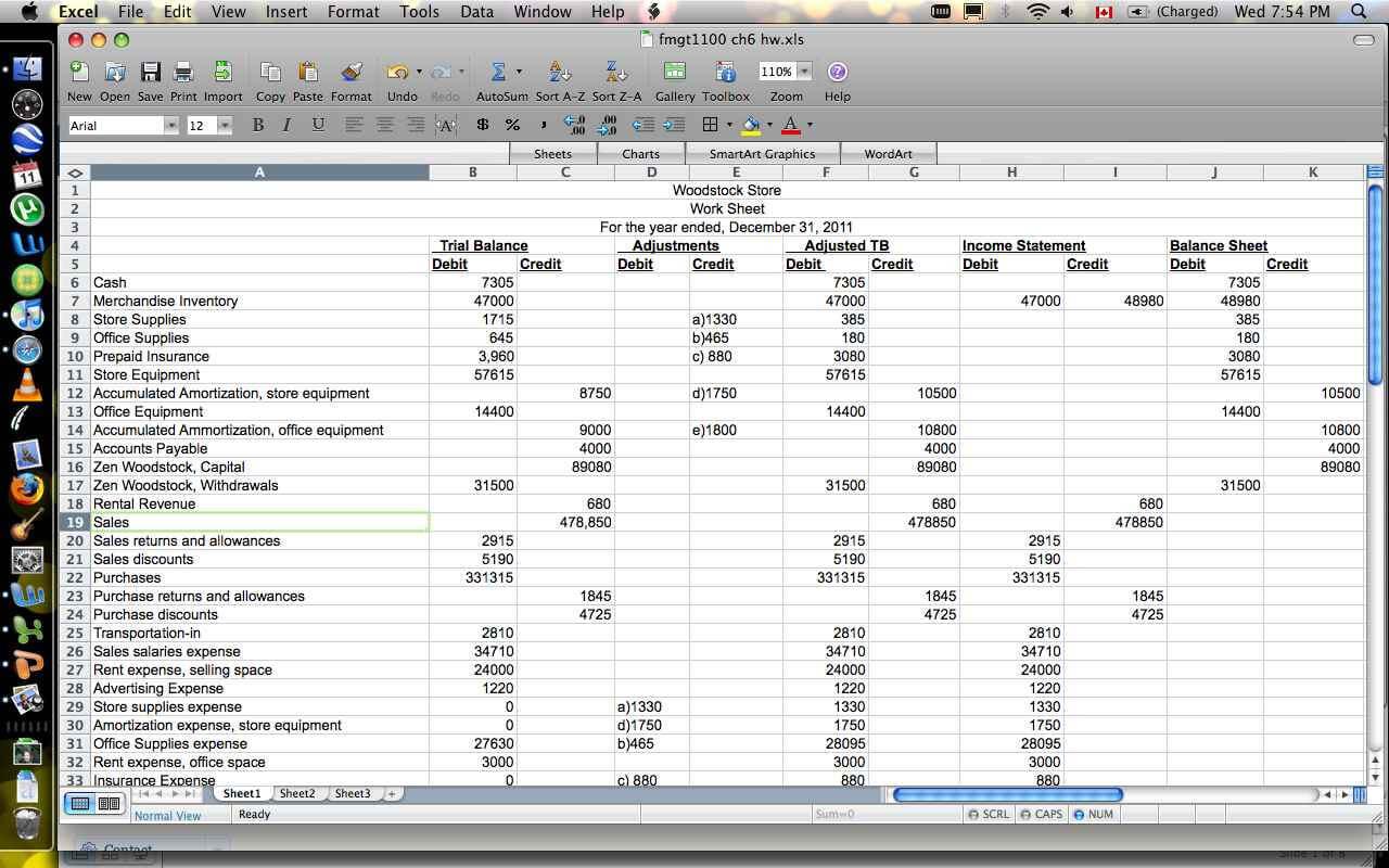 Excel Financial Report Templates