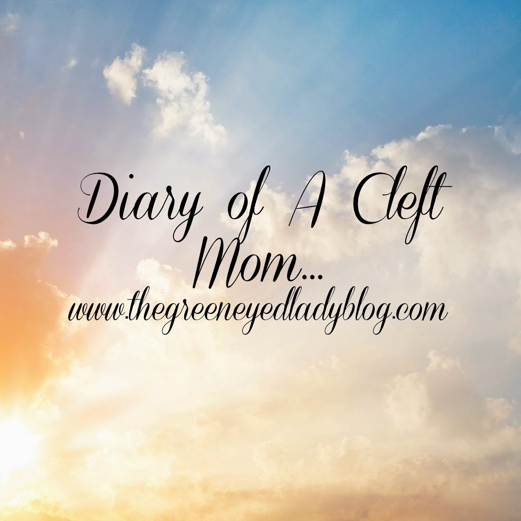 Diary of A Cleft Mom: Post Surgery