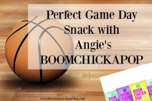 Perfect Game Day Snack with Angie's BOOMCHICKAPOP ®