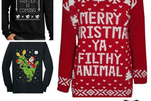 22 Ugly Sweaters for your Holiday Party