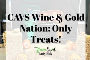CAVS Wine & Gold Nation: Only Treats!