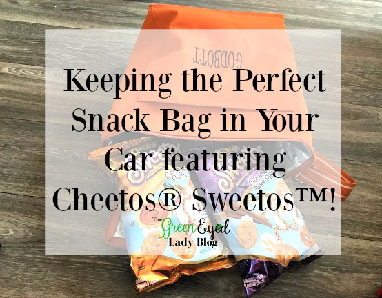 Keeping the Perfect Snack Bag in Your Car featuring Cheetos Sweetos!