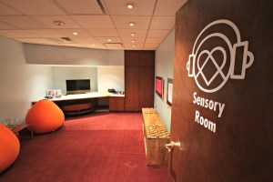 Sensory Overload: Visit the Quicken Loans Arena Sensory Room