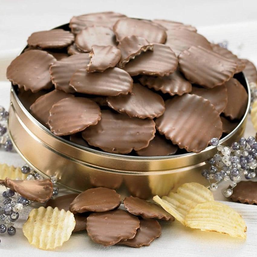 Figi S Chocolate Covered Potato Chips