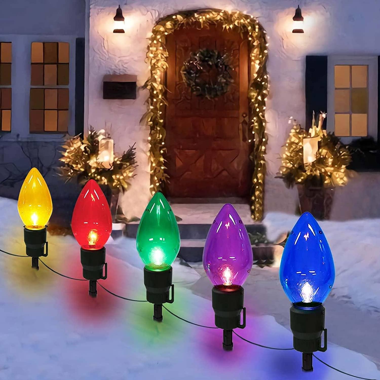 Christmas Light Bulbs Amazon