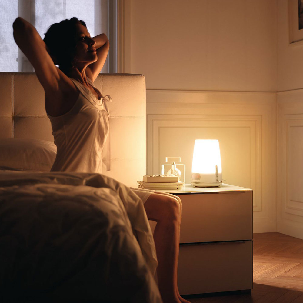 Philips Wake Up Light Plus The Green Head