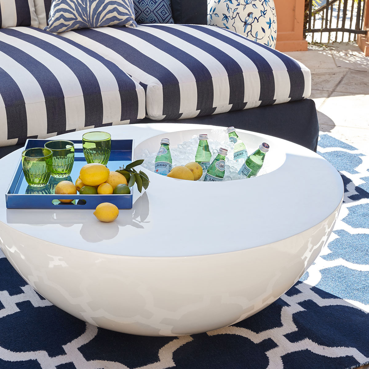 phillips collection outdoor beverage tables