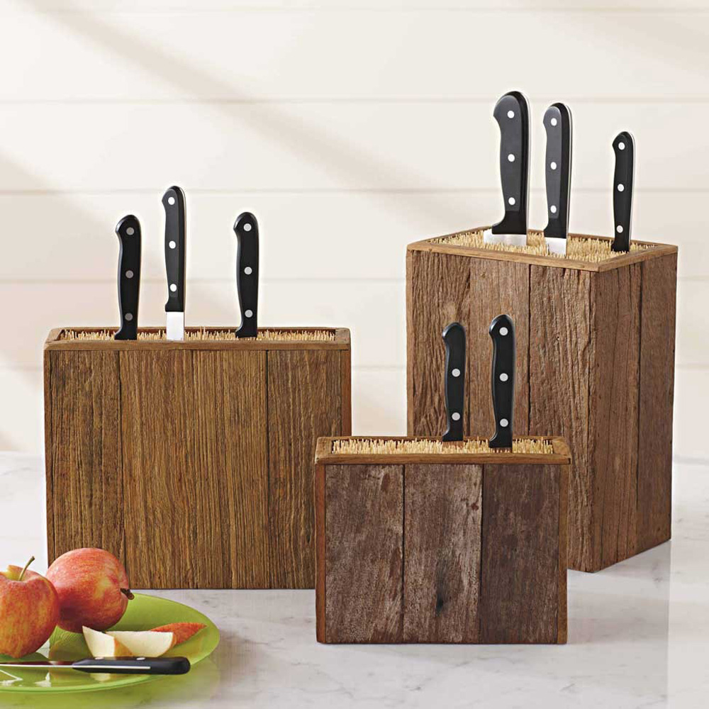 Blocks Knife Without Wooden Knives