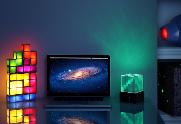 SuperNova LED Light Show Bluetooth Speaker Cube