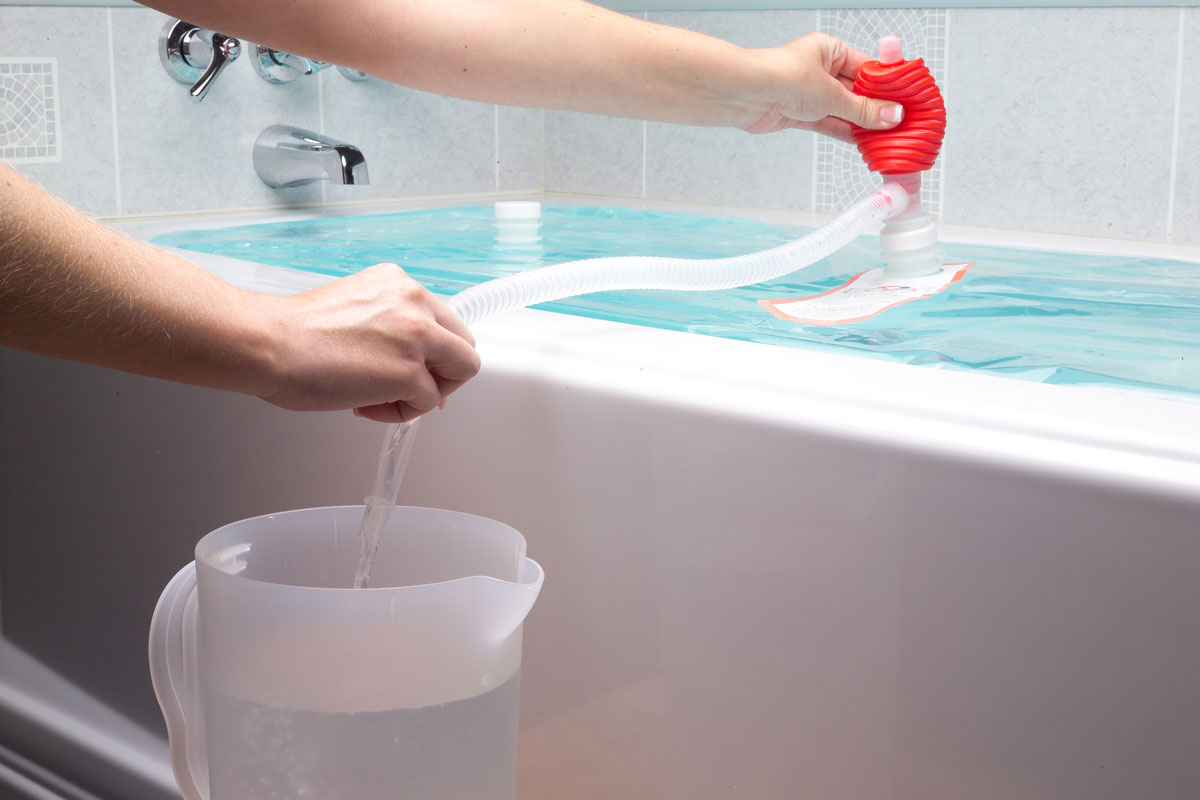 WaterBOB Emergency Bathtub Drinking Water Storage The