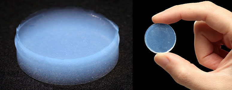 Aerogel Worlds Lightest And Lowest Density Solid The