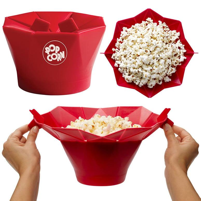 reusable microwave popcorn popper