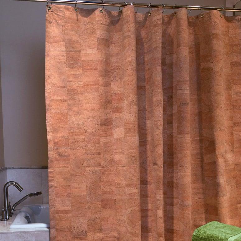 cork shower curtain