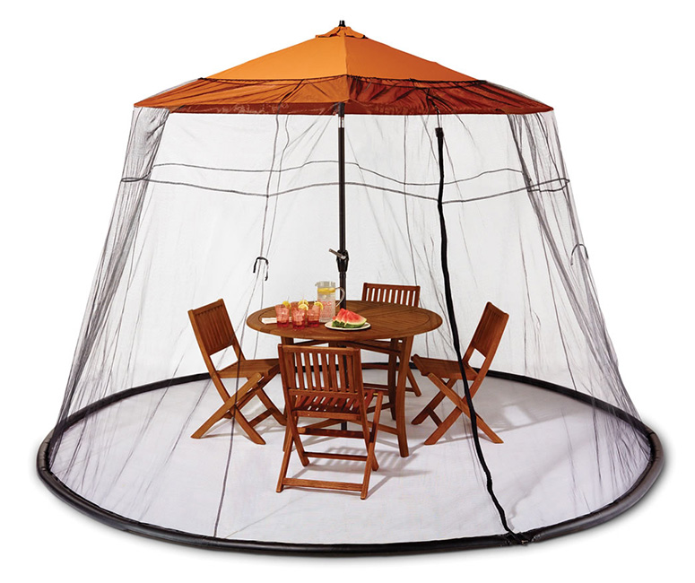patio table mosquito canopy