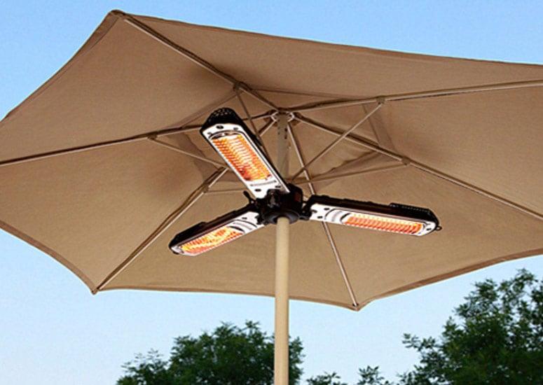 patio umbrella electric heater