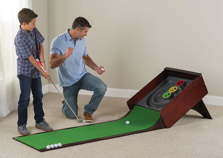 Putting Arcade Mini Golf And Skee Ball Mixed Together