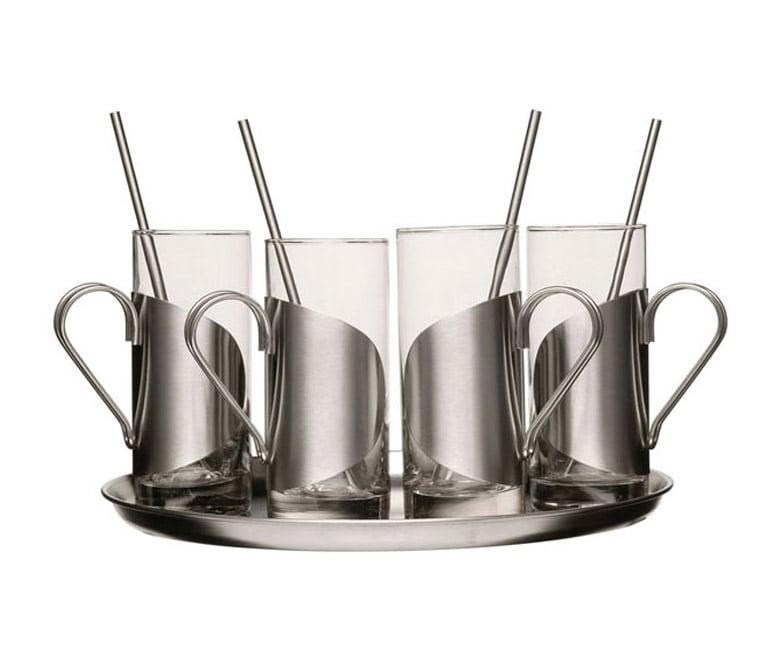 Sagaform Irish Coffee Glass Cup Set The Green Head