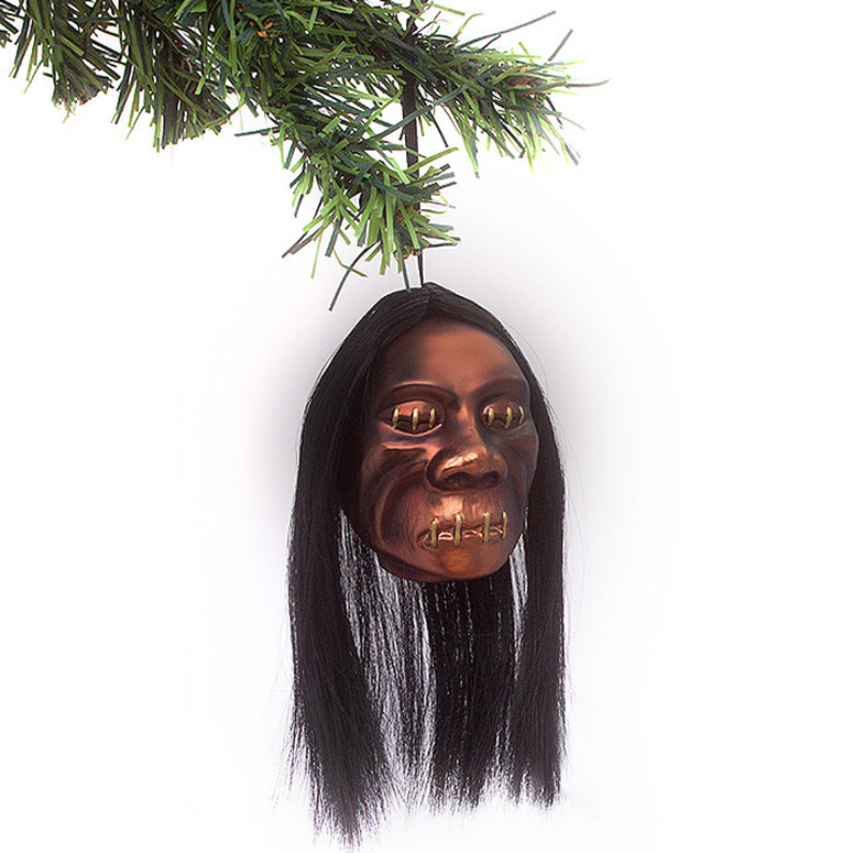Shrunken Head Christmas Ornament The Green Head