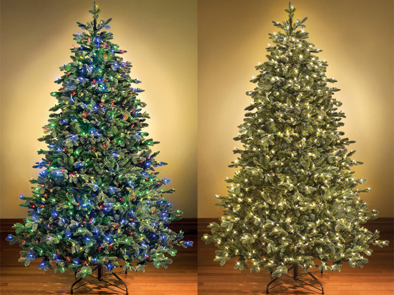 Cheap Pre Lit Decorated Christmas Trees
