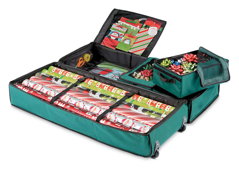 Ultimate Gift Wrap Storage Bag The Green Head