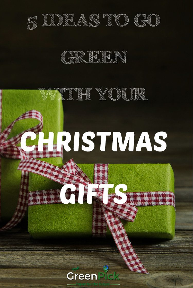 5 green christmas gifts ideas
