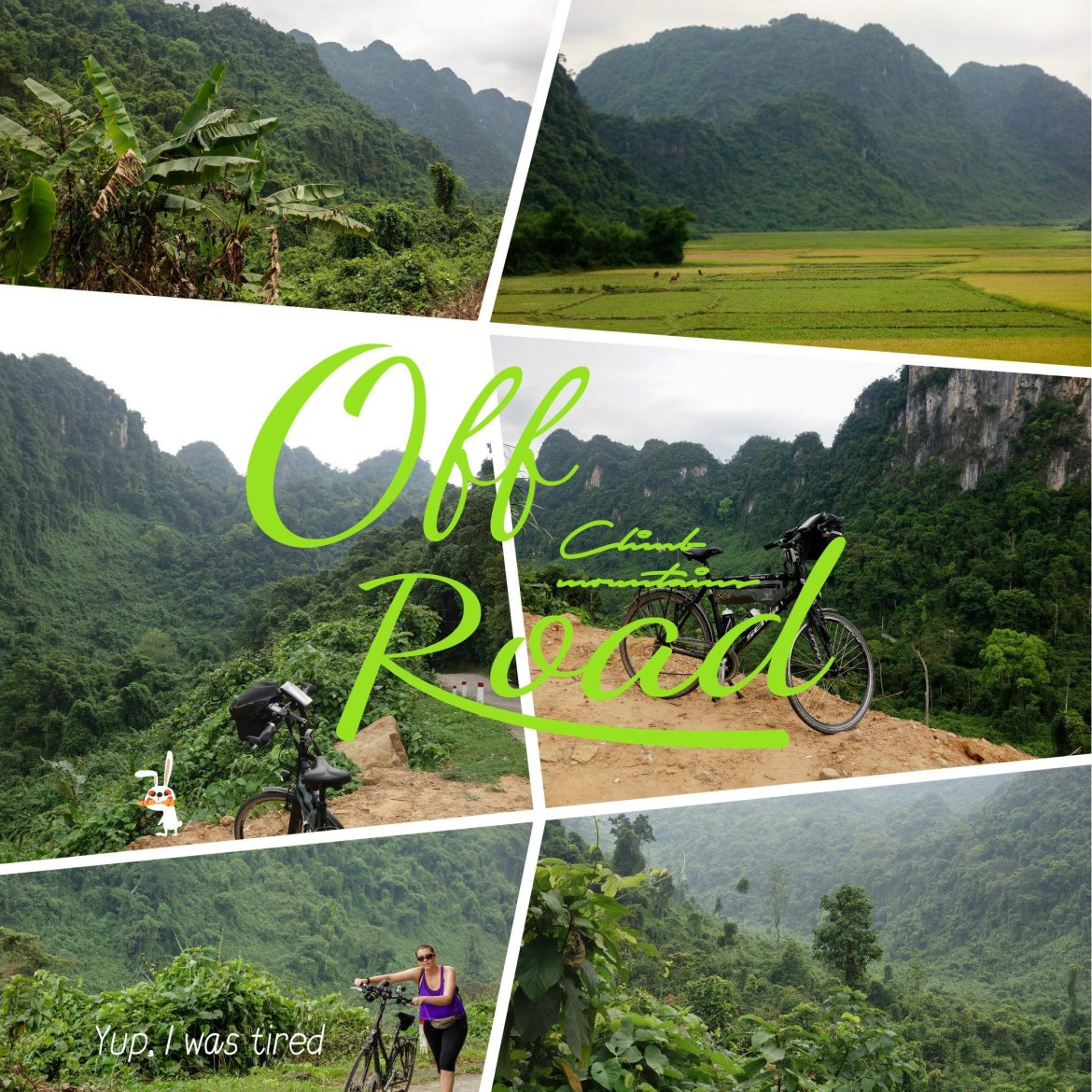 phong nha ke bang vietnam bicycle views