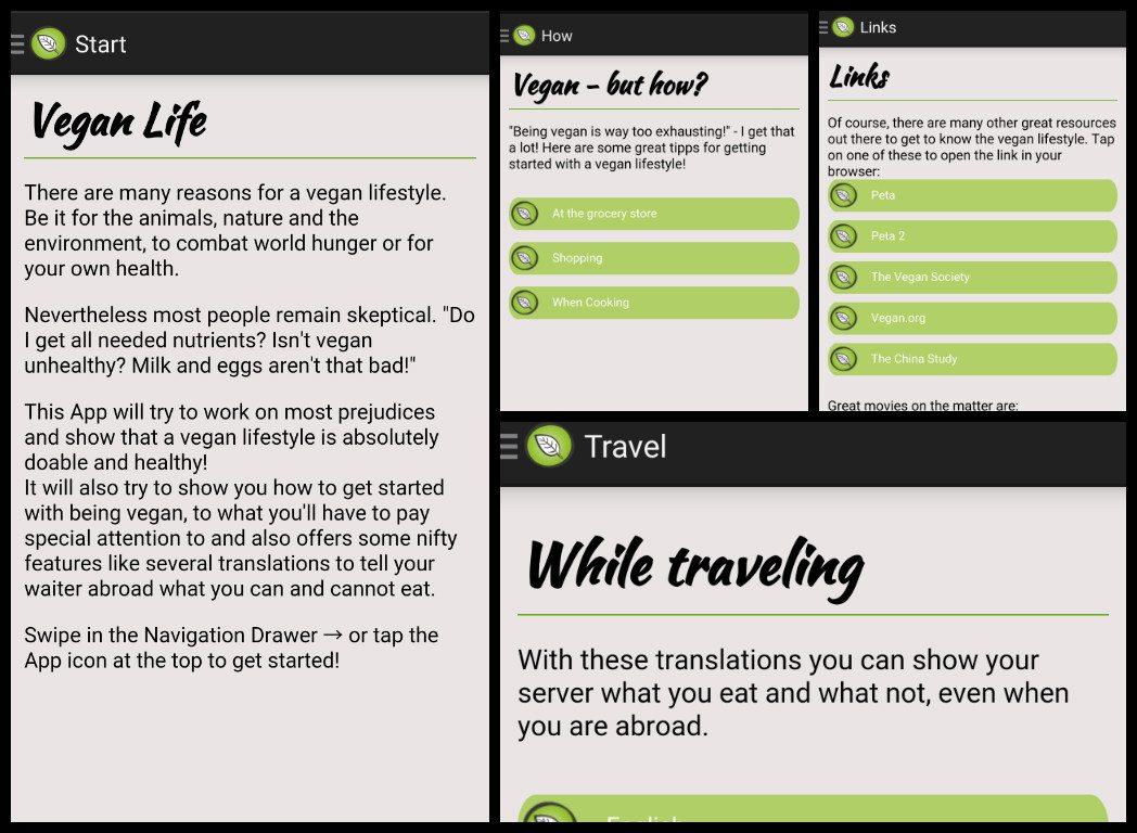 vegan life android app how to eat vegan