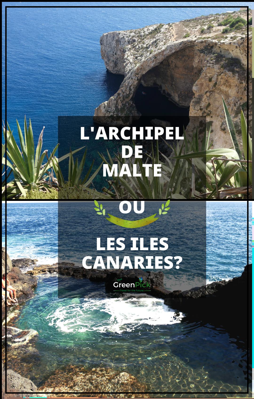 iles canaries ou malte tenerife gozo que choisir tourisme insulaire