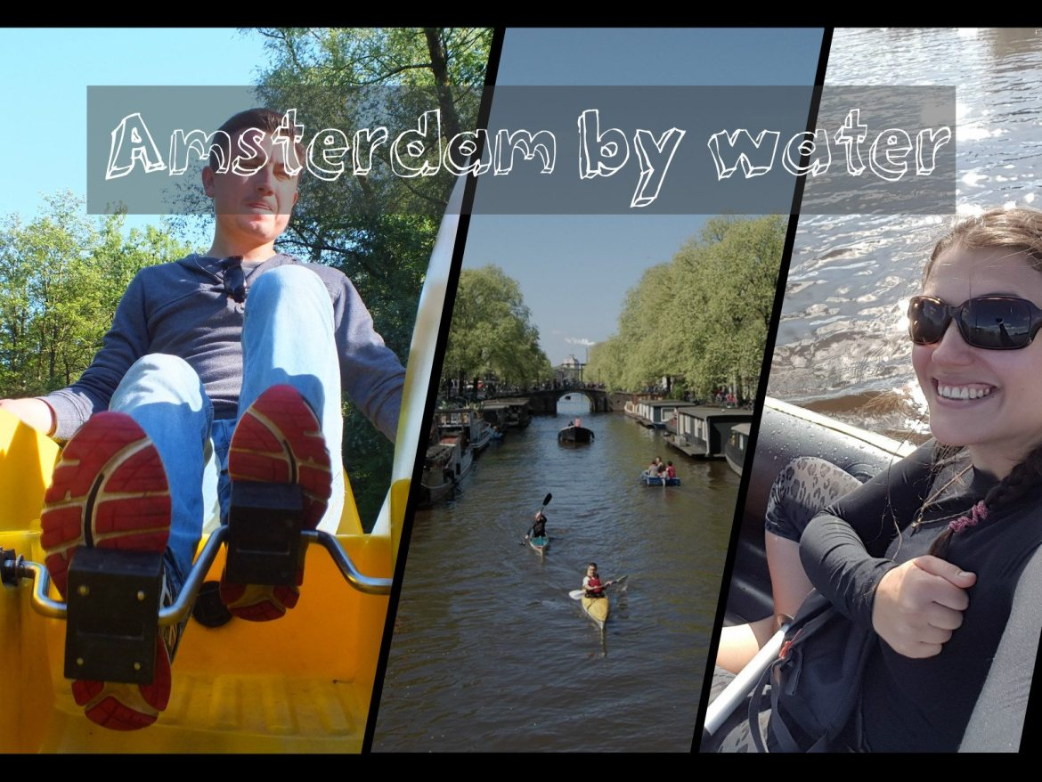 amsterdam by boat water canals beautiful