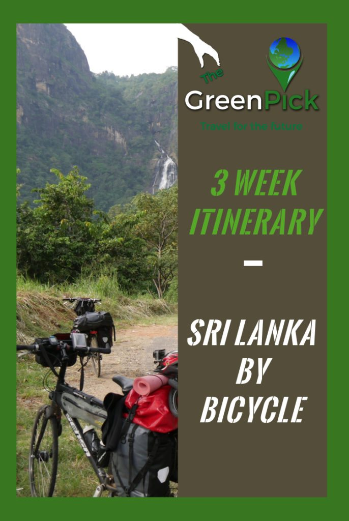 Sri Lanka by Bicycle - 3 week itinerary - sustainable tourism