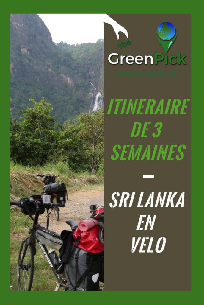 itineraire de 3 semaines au Sri lanka a velo vacances aventure en velo