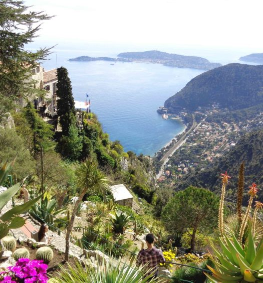 eze village exotic garden french riviera cote d'azur