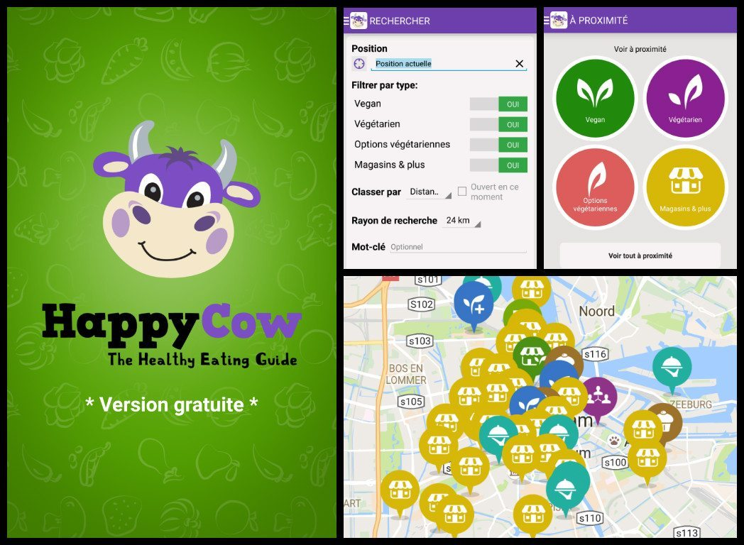 happycow happy cow app where to eat vegan or vegetarian