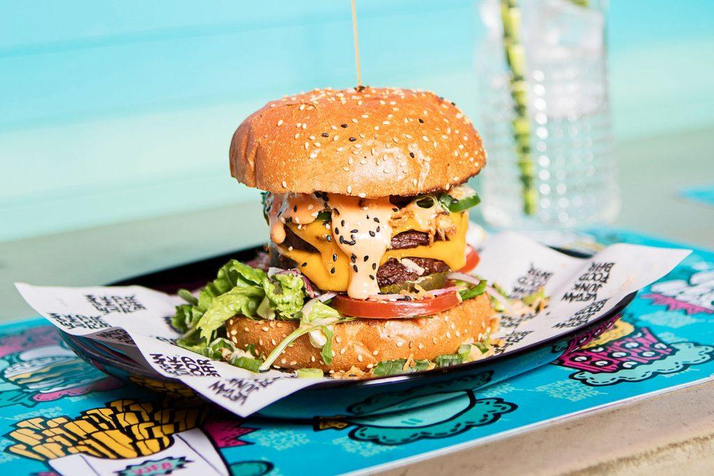 vegan junk food bar vegan burger amsterdam