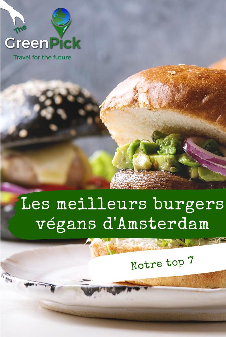 vegan burger amsterdam les meilleurs burgers d'amsterdam
