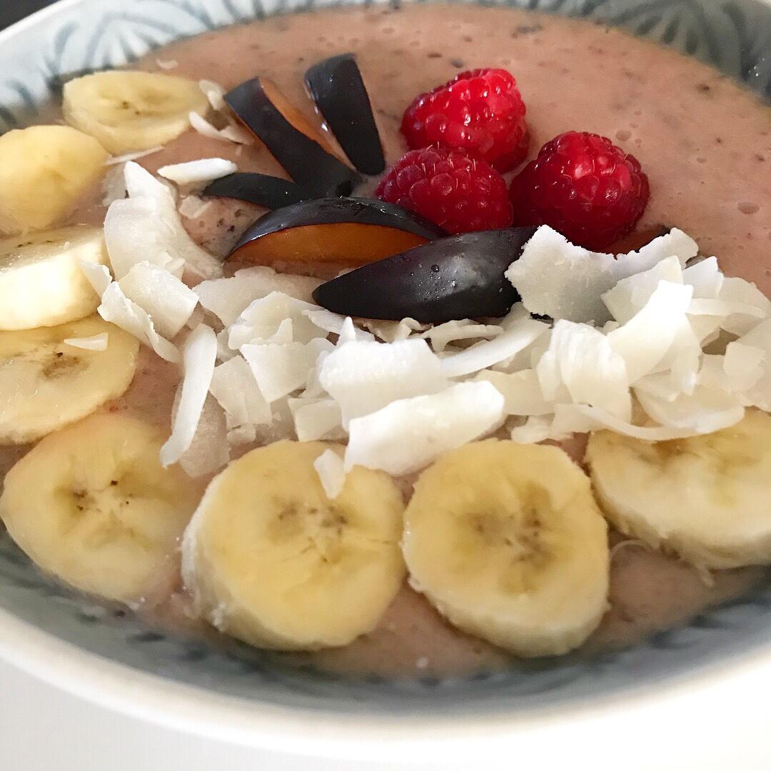 vegan smoothie bowl