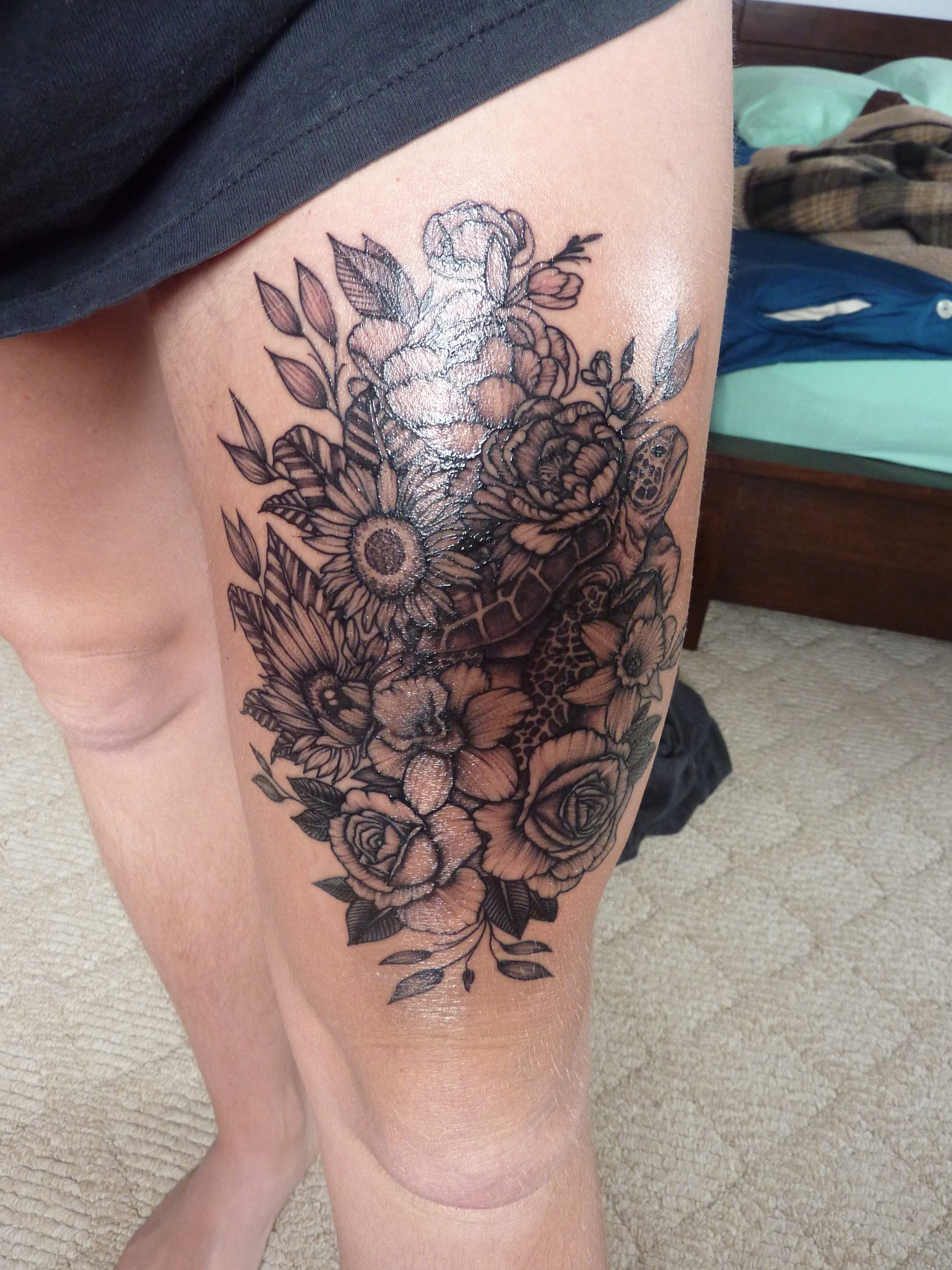 The 5 Stages Of Grief And Your New Tattoo The Green Writing Desk