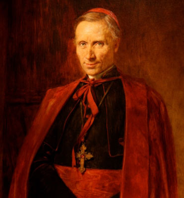 Cardinal James Gibbons (1834-1921), Baltimore, advisor to presidents, champion of labor, publisher of the Douay-Rheims Bible, apologetics author and lecturer. Teddy Roosevelt called him the most useful American.