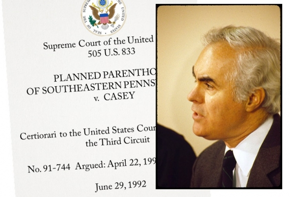 """Robert Patrick """"Bob"""" Casey, Sr. (1932-2000) Governor of Pennsylvania whose pro-life reforms were at issue in the Supreme Court's Planned Parenthood v. Casey. Democrats denied him a speaking slot at their 1992 convention."""