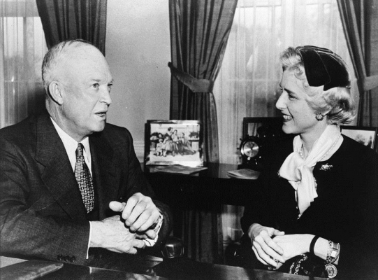 Clare Boothe Luce (1903-1987) Congresswoman and Ambassador, author and anti-Communist activist. Converted by Fulton Sheen, she wrote the Academy Award nominated screenplay Come to the Stable.